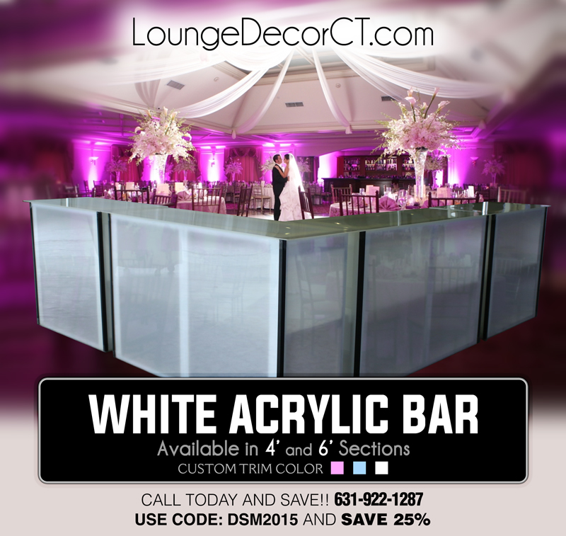 Acrylic Bar Rentals of CT